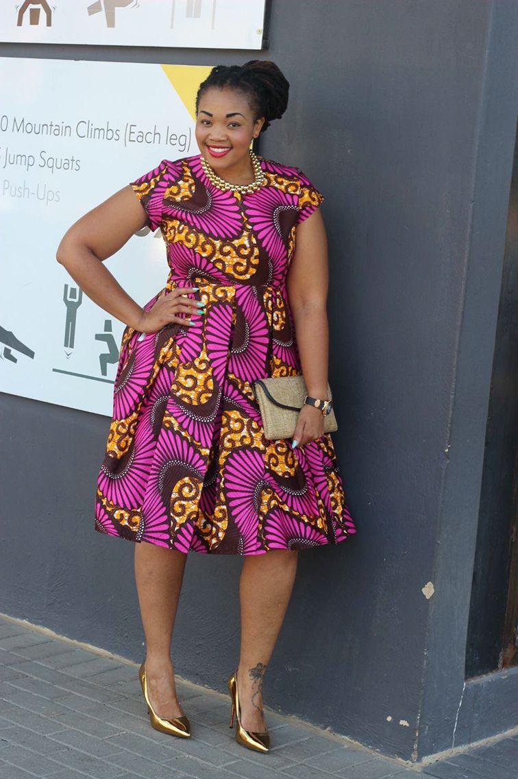 Plus size african wedding dresses  Pink and brown African wear  Abrigo  Pinterest  African wear