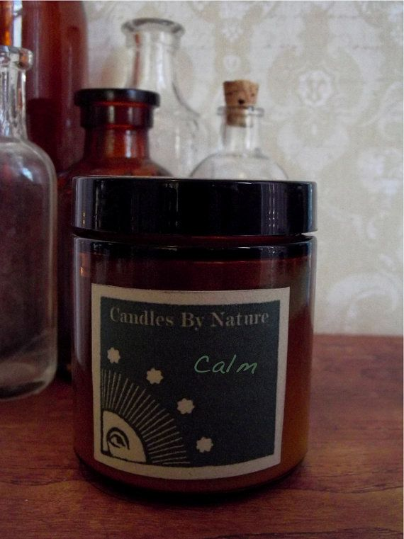 Aromatherapy Natural Candle Handmade by candlesbynature on Etsy, $6.50