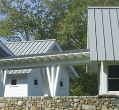 Best White Clapboard Light Gray Standing Seam Metal Roof And 400 x 300