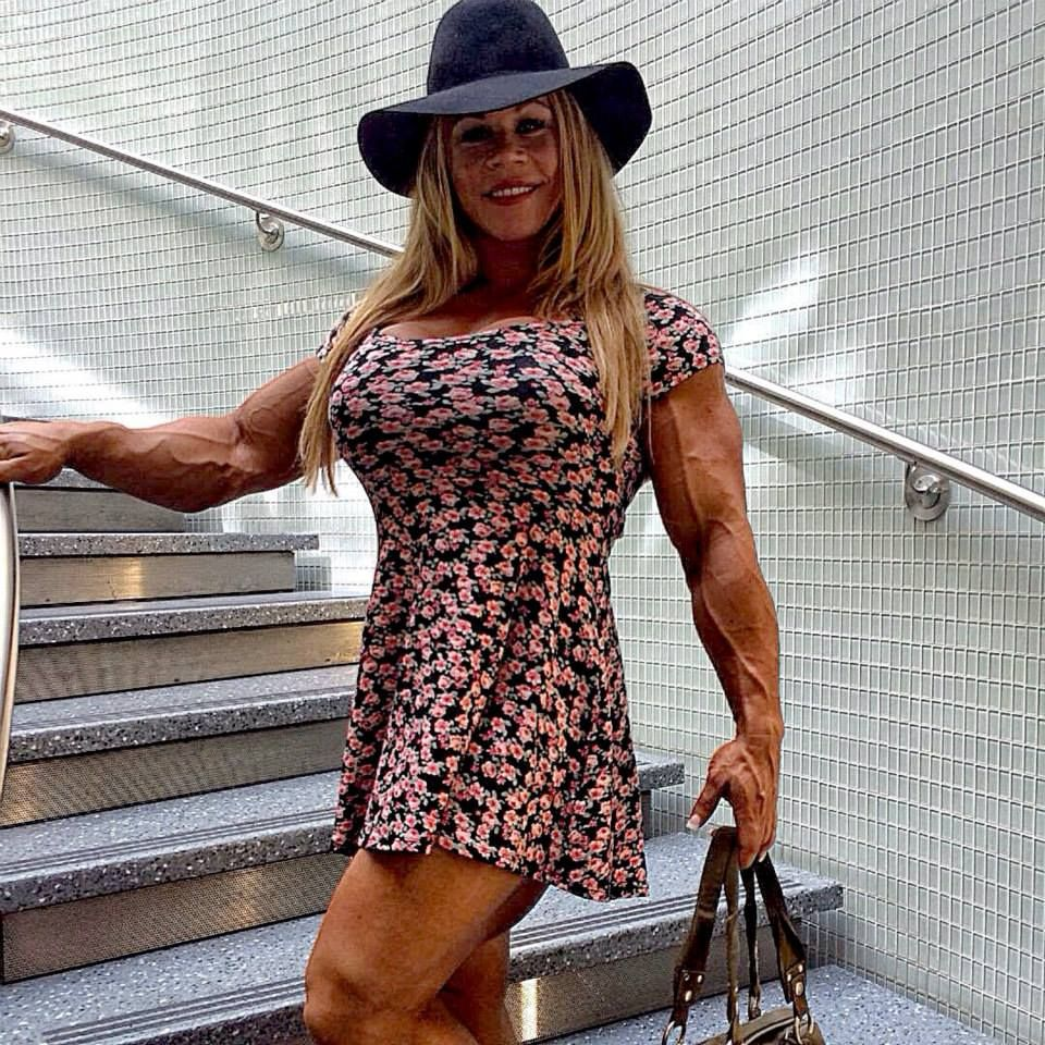 aleesha young | Tumblr | dressed up muscle