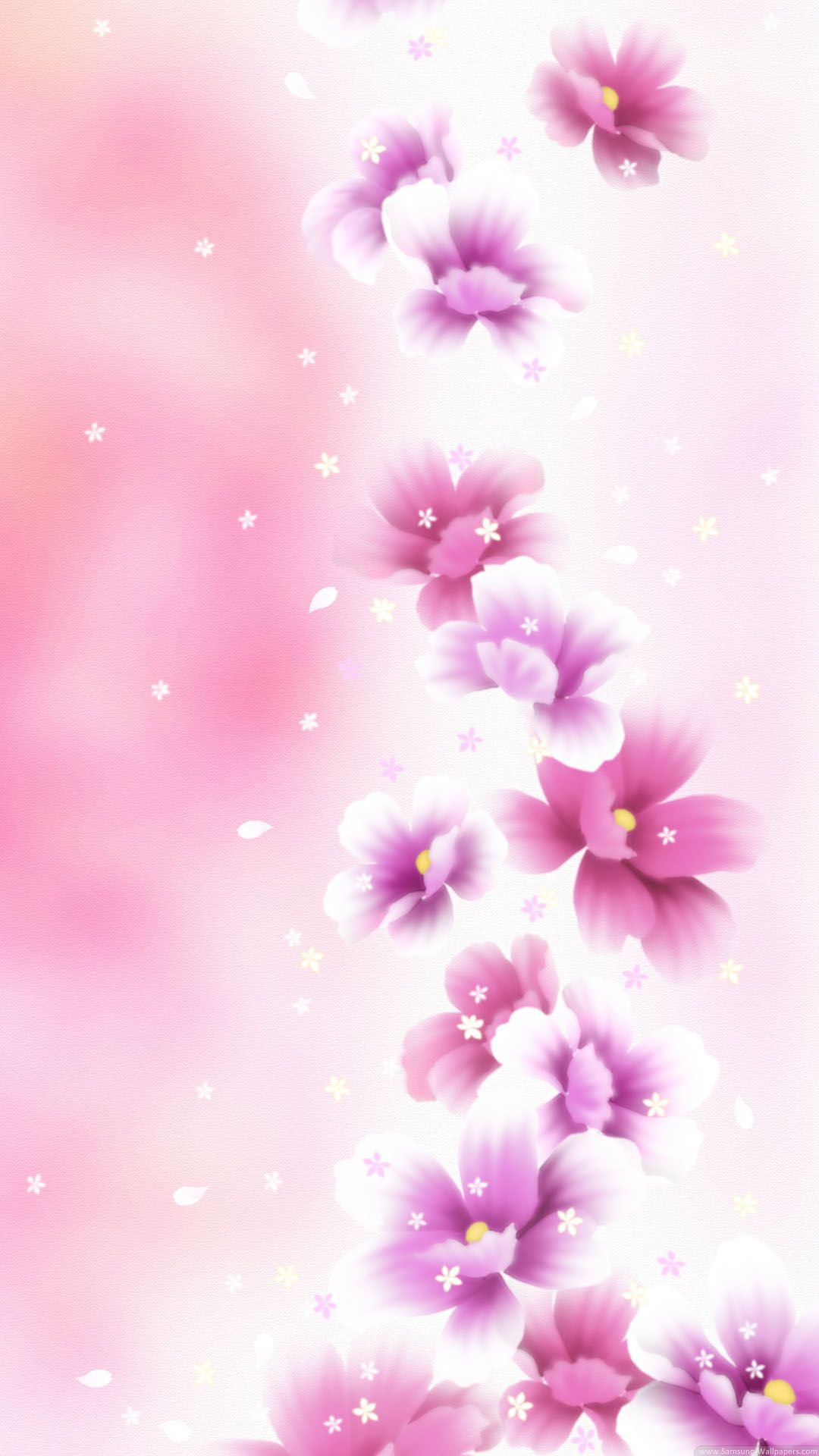Cute Pink And White Wallpaper Iphone In 2020 Flower Iphone Wallpaper White Wallpaper For Iphone Pretty Phone Wallpaper