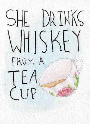 everything tastes better from a teacup