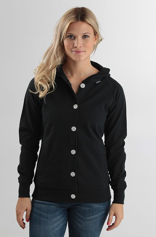 Makia Button Up huppari Black 89,90 € www.dropinmarket.com