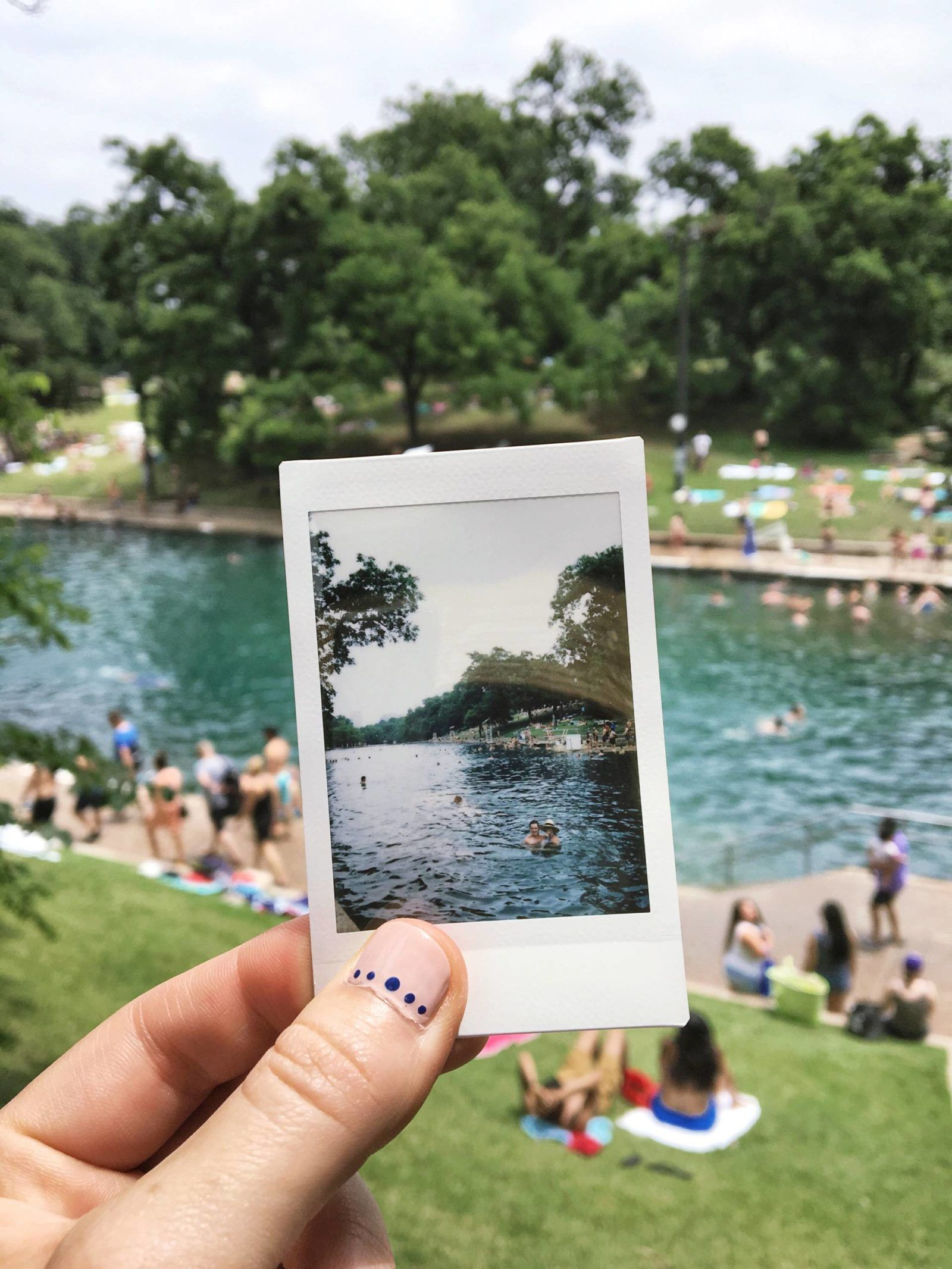 Memorial Day Weekend At Barton Springs Pool In Austin Texas Weekend In Austin Best Weekend Trips Texas Hill Country