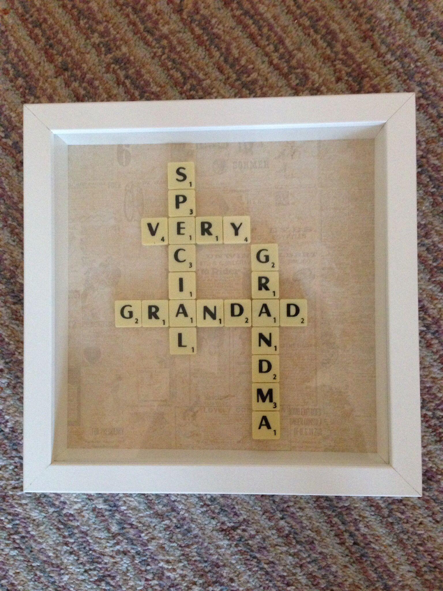 grandad grandma scrabble tile art contact scrabblecreations gmail