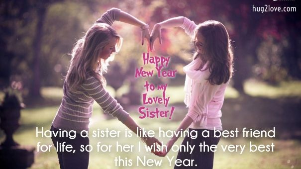 50 Happy New Year 2020 Quotes For Sister Wishes For Sister