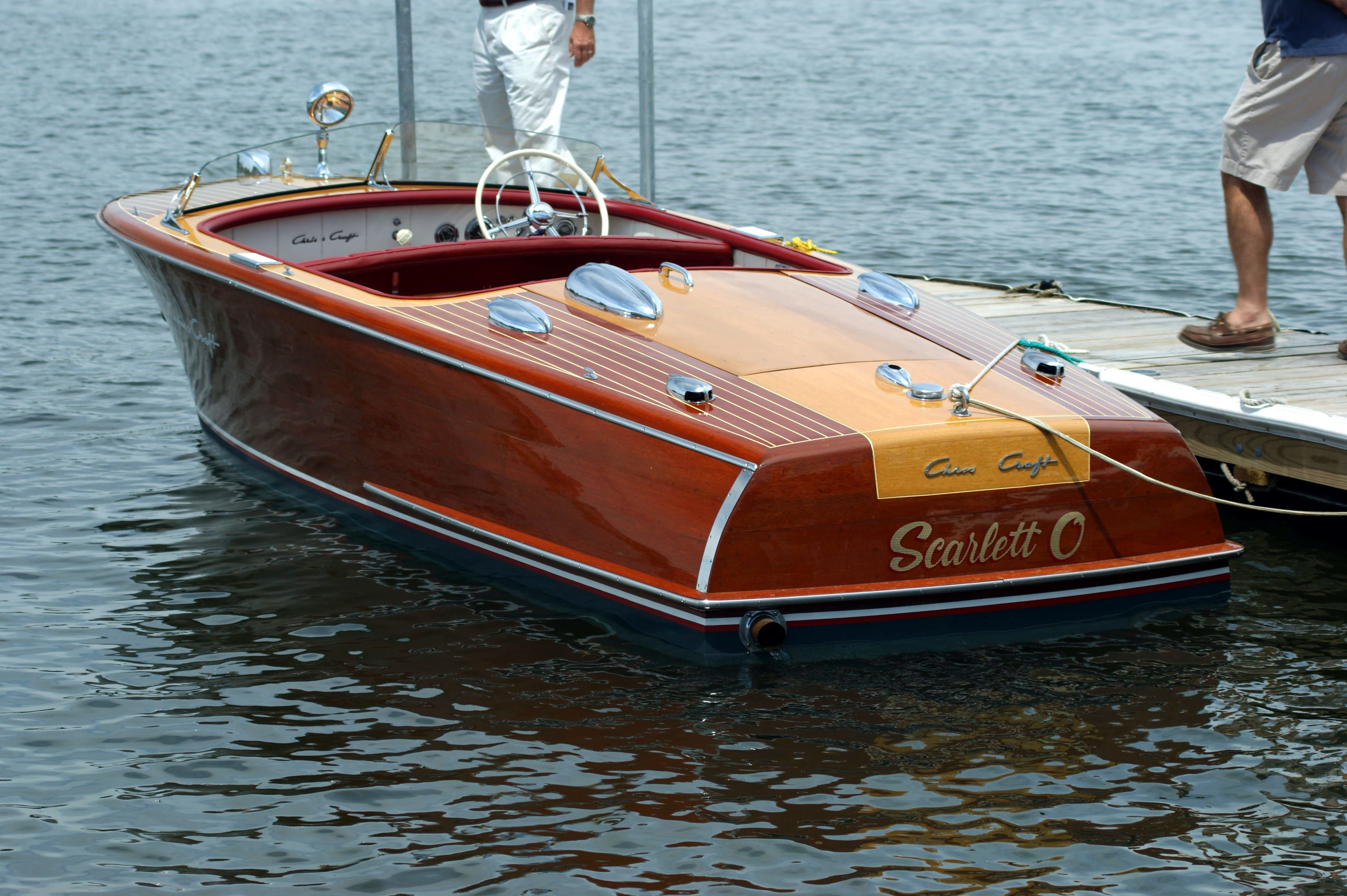 Chris Craft Classic Wooden Boat | Wonderful Boats | Boote
