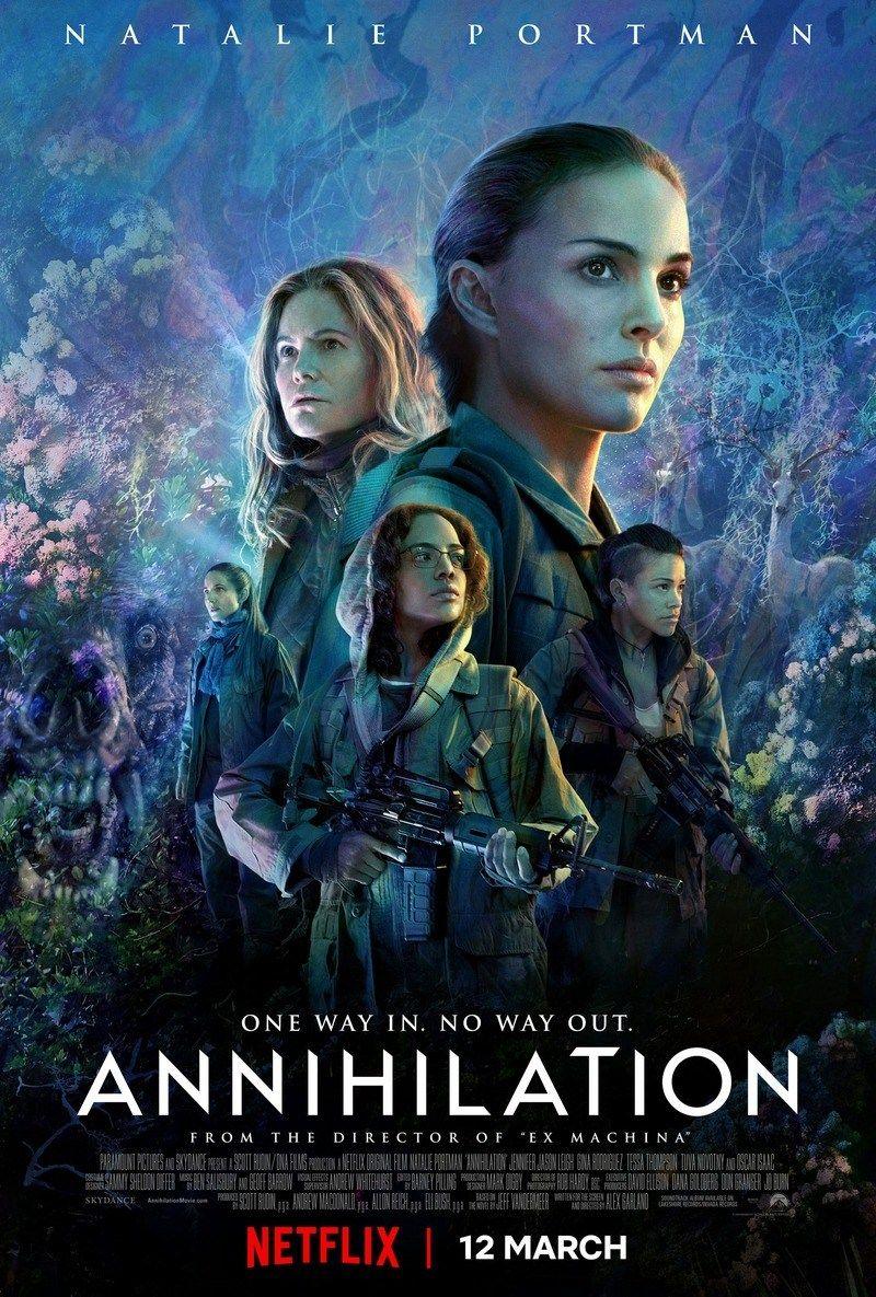 Annihilation 2018 Pencils And Popcans Annihilation Movie Movies Movie Posters
