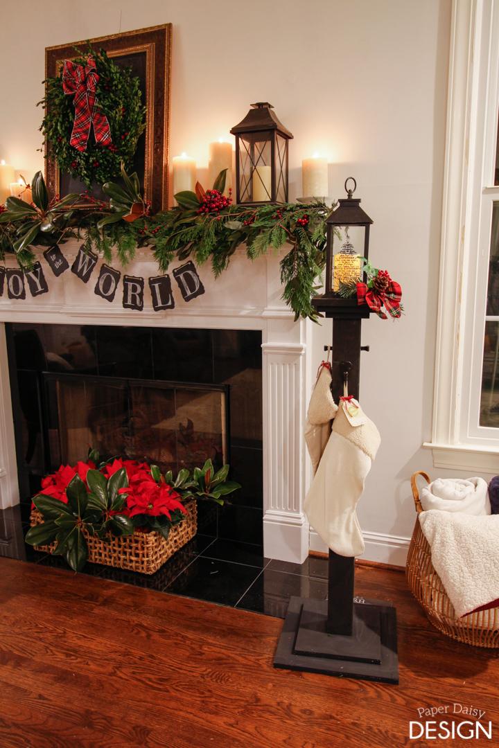 Holiday Stocking Post DeeplySouthernHome Christmas