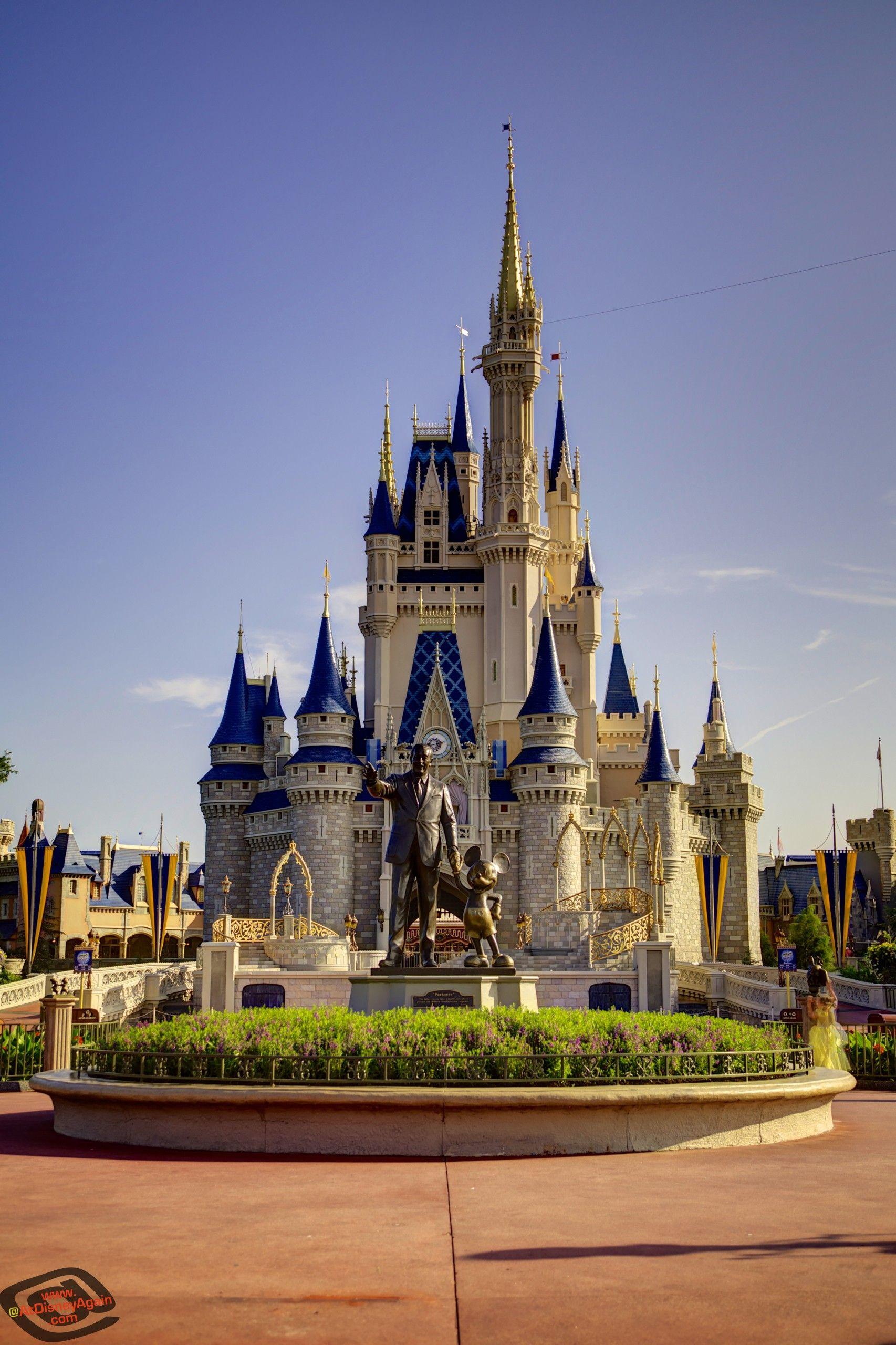 Daytime Cinderella Castle Wallpaper 026 Disney World Castle Disney Castle Disney Wallpaper