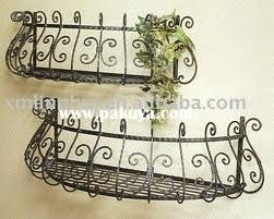 Wire Flower Baskets Google Search Wrought Iron Decor French Country Decorating Iron Decor
