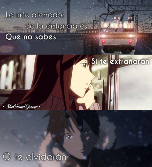 Anime Frases Anime Frases Sentimientos Shuoumagcrow Amor Dolor
