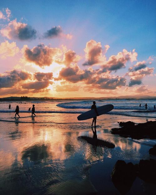 Peaceful Places In Hawaii: Hollieturner: Sunset In Paradise. By Tuulavintage