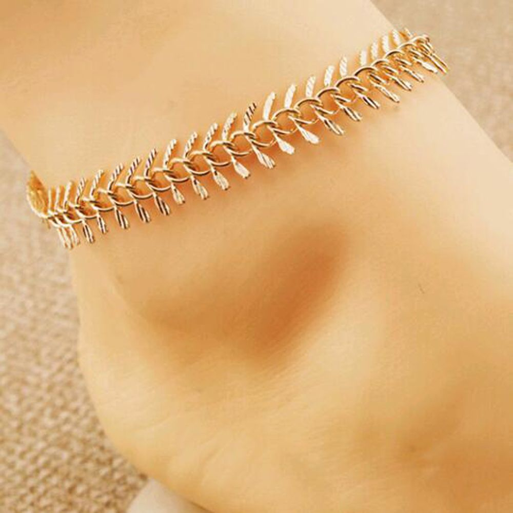 bracelet beach in anklets for and chain accessories from jewelry bracelets ankle anklet women sandal silver foot bead item barefoot