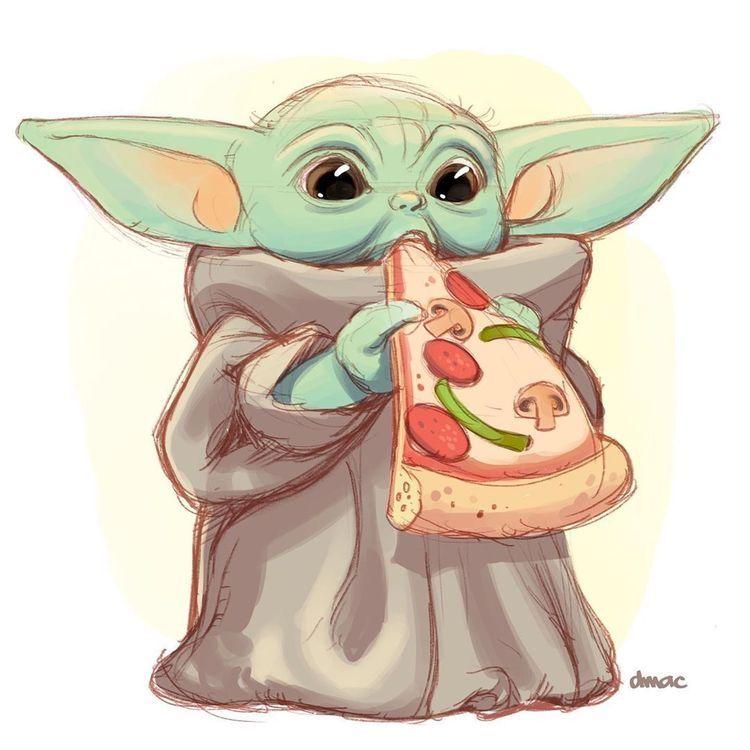 Baby Yoda In 2020 Star Wars Drawings Star Wars Art Yoda Art