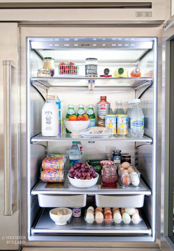 Sub Zero Pro 48 Glass Door Refrigerator K I T C H E N D E T A I L