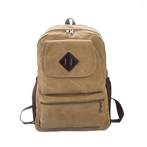 facf9894e536c Tclothing Vintage Rucksack Langlebig Daypack Zum Travel Reise Einkaufen  Arbeit Lässig Backpack mit Große Kapazität Schön