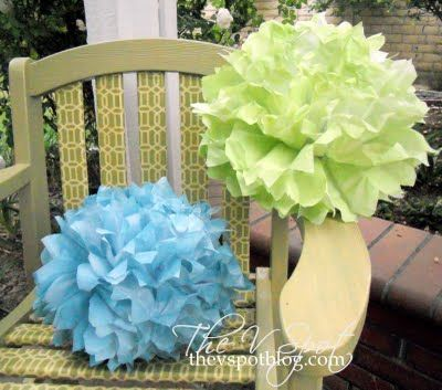 Yes You Can Spray Paint Tissue Paper Craft Ideas Tissue Paper