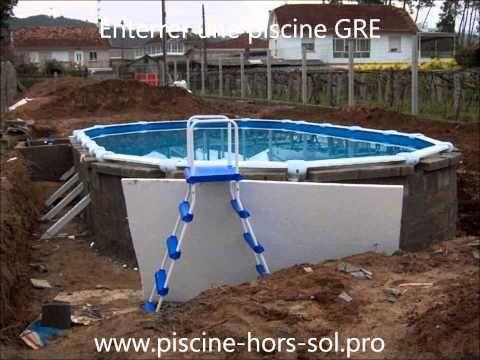 installation d 39 une piscine gr hors sol piscine pinterest piscine hors sol. Black Bedroom Furniture Sets. Home Design Ideas