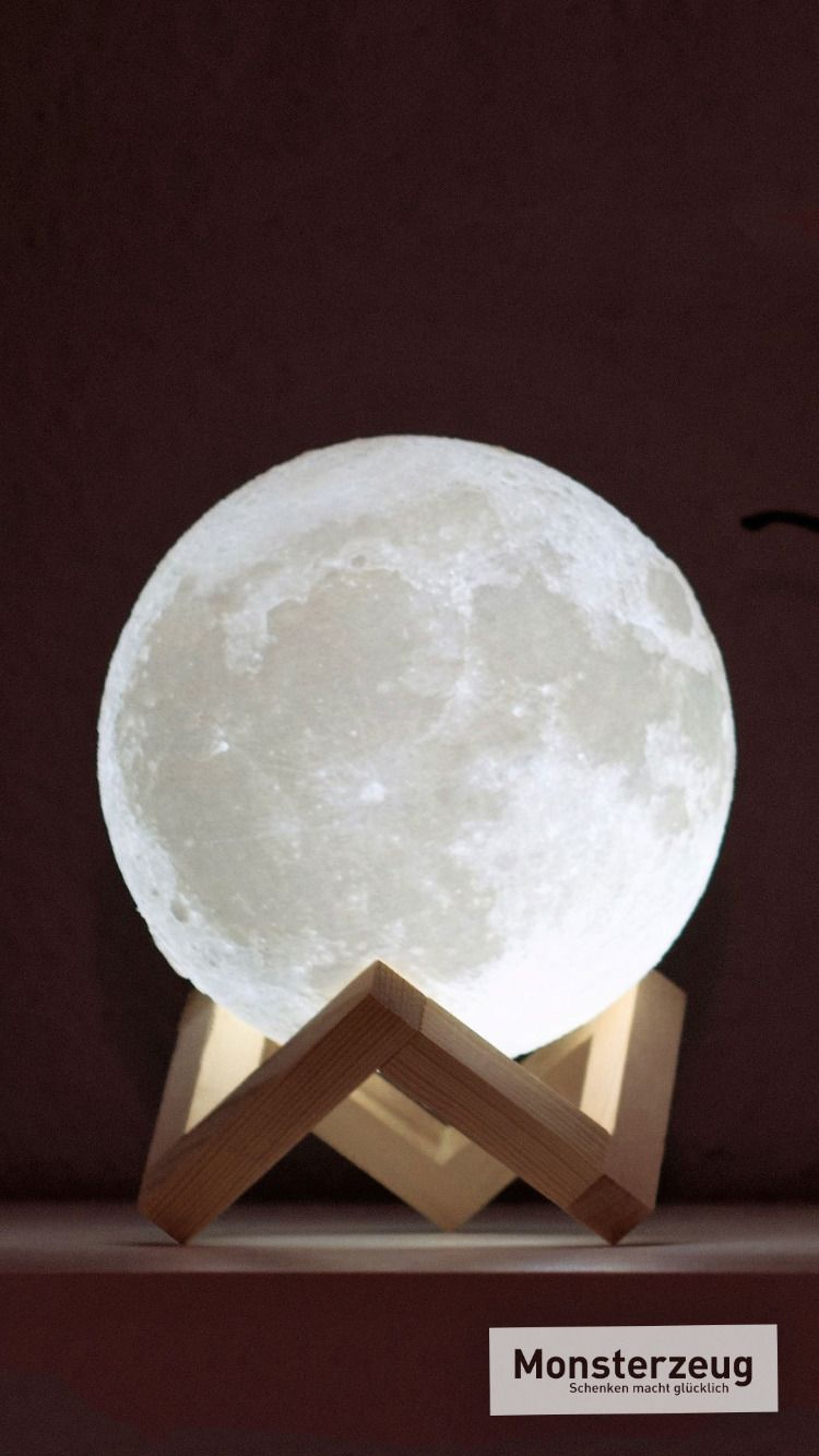 Galaktische Mond Leuchte für daheim   Mond lampe, Lampe ...