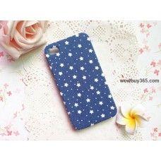 Starry Sky Fabric iPhone 4/4s/5 Case