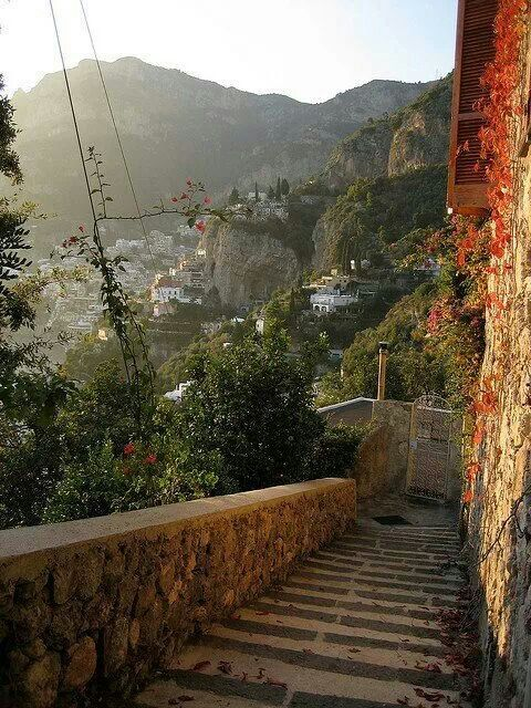 Ancient Staircase Amalfi Italy Pretty Places Beautiful Places