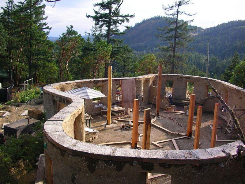 Rammed Earth Construction Part 84