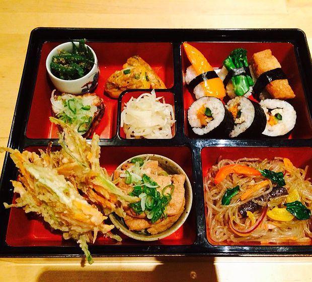 Itadakizen Vegan Japanese Kings Cross Best Vegetarian Restaurants Vegetarian Food