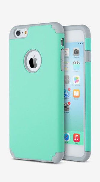 buy popular 92f21 2bb4b ULAK Case for Apple iPhone 6 Plus 6S Plus Hard Cover Mint | Phone ...