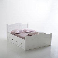 Lit 4 Tiroirs 2 Pers Authentic Style Bedroom Lit Mobilier De Salon Et Tiroir