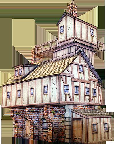 Paper model houses free