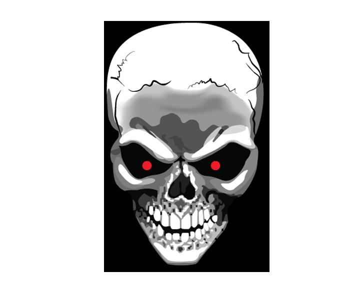 Terminator Skull Png Image Skull Hd Skull Wallpapers Skull Illustration