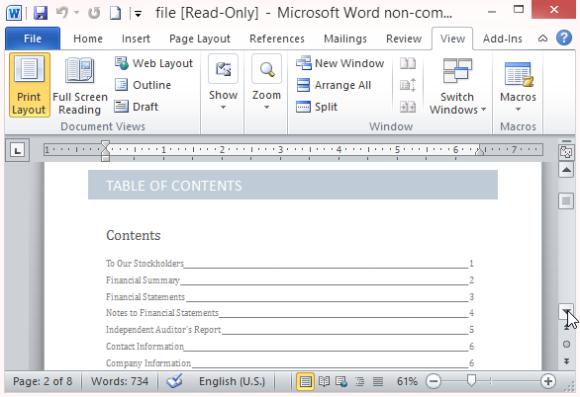 WellWritten And Organized Annual Report  Scribe Wordsmith