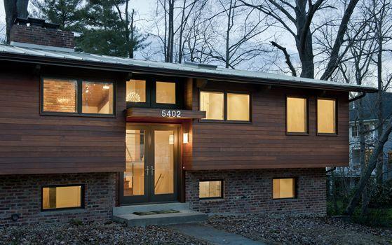 Bennett Frank Mccarthy Architects Modern Remodel Split Level Remodel Exterior Exterior House Renovation