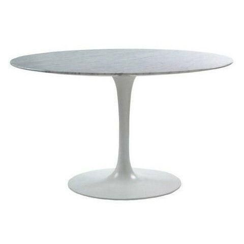 Eero Saarinen Tulip Table Round Dining 54 Inch Saarinen Table