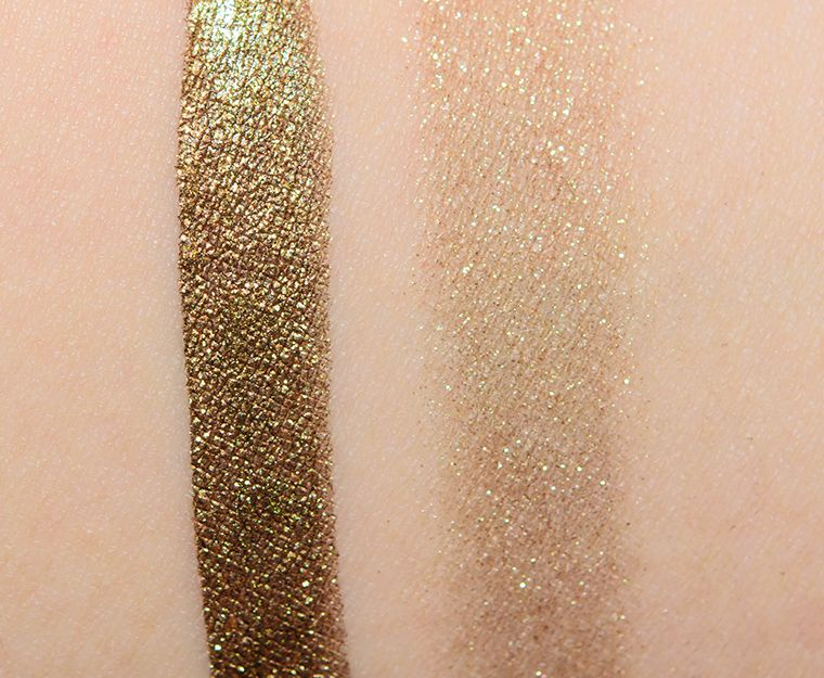 Stila La Douce Shimmer & Glow Liquid Eye Shadow Review & Swatches ...