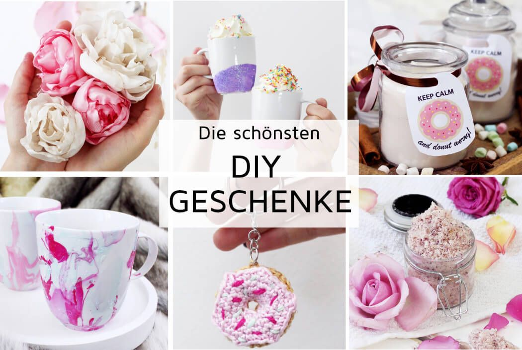 DIY Geschenke selber machen: Kreative Geschenkideen basteln   Diy ...