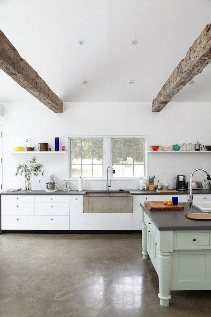 Floating Floors For Kitchens The Country Rental A Floating Farmhouse In Upstate New York