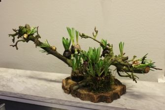 Diy Met Takken : Bloemstuk met takken en hyacinten floral design easter diy