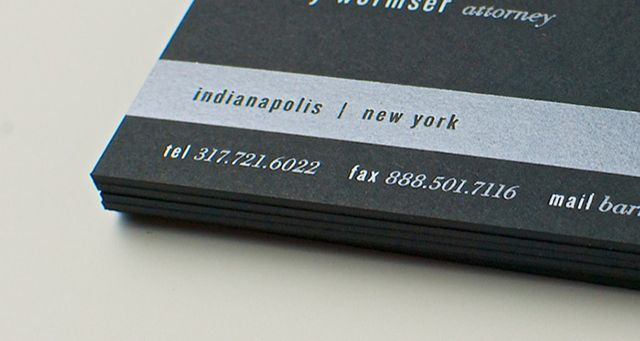 Wormser legal business cards templates are one of the best designs ...