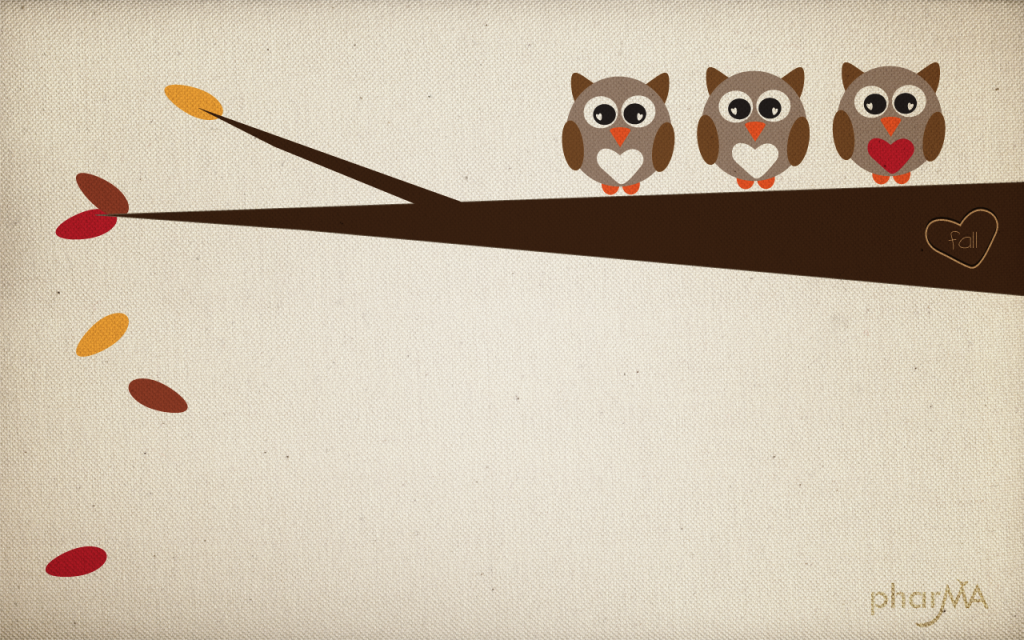 Free Fall Wallpaper The Pharma Blog Cute Owls Wallpaper Cute Fall Wallpaper Owl Wallpaper