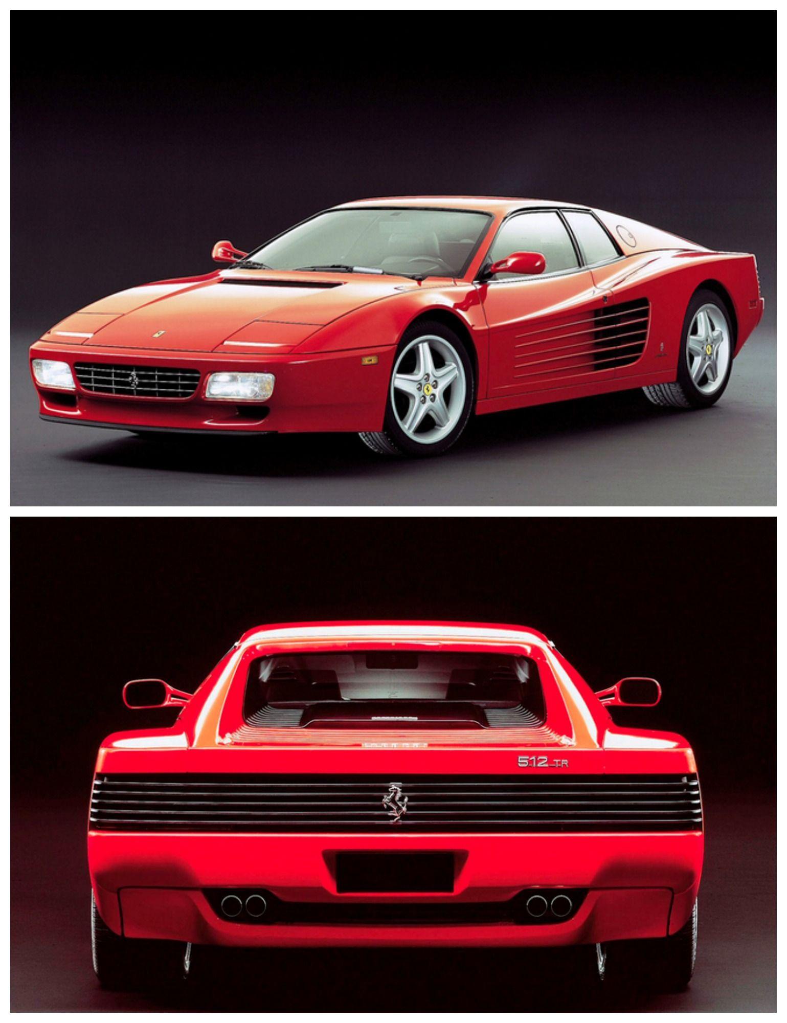 The Iconic Ferrari Testarossa symbolic of the 80's