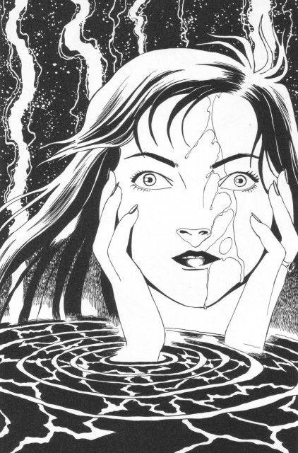 Erotic manga art