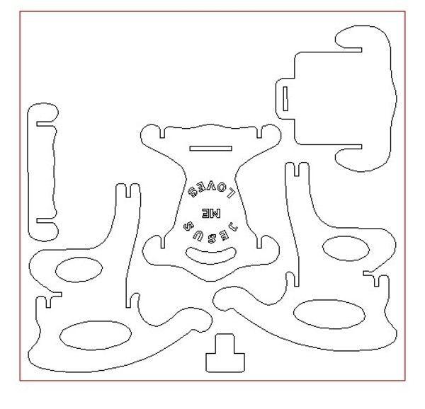 Pleasant Kids Puzzle Rocking Chair Plans Plans Free Download Uwap Interior Chair Design Uwaporg
