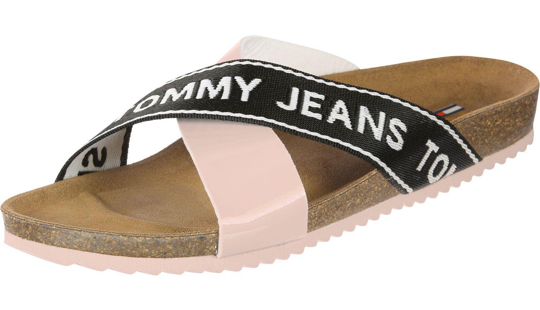 Tommy Jeans Flat Cork W Sandalen pink im WeAre Shop   WeAre SNEAKER ... f876f00541