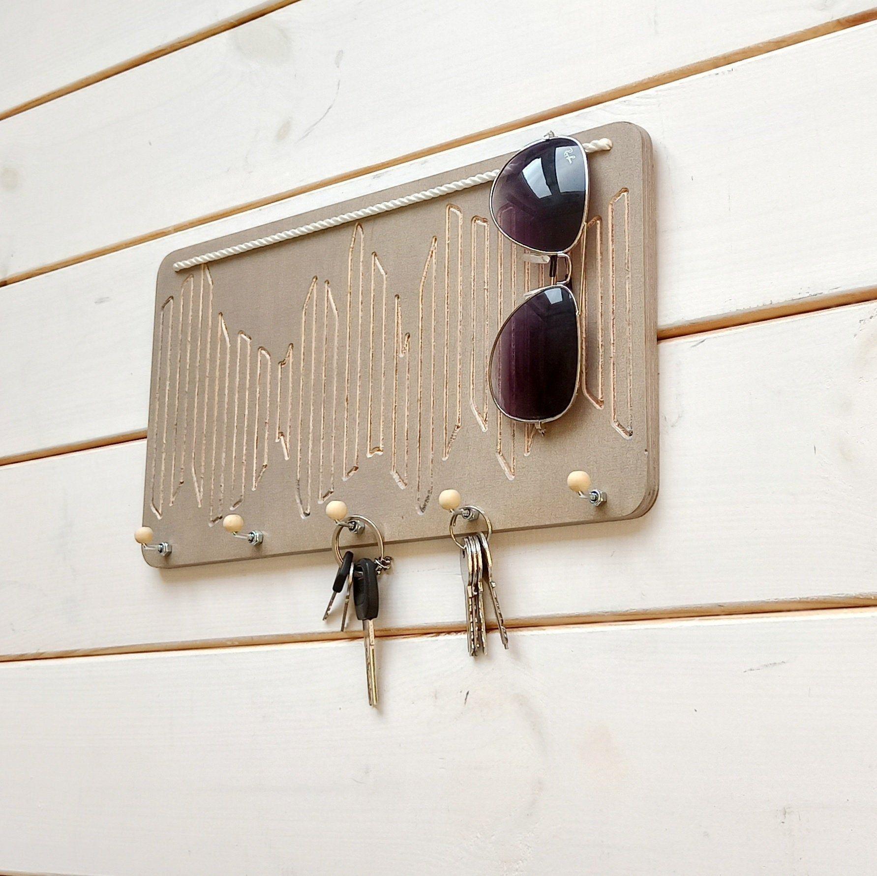 Custom Key Holder Holder For Wall Simple Key Holder Key Rack Home Wooden Key Hanger Modern Key Rack Hanging Key Rack Wooden Holder V 2020 G