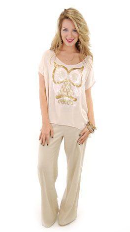 I love this owl shirt!
