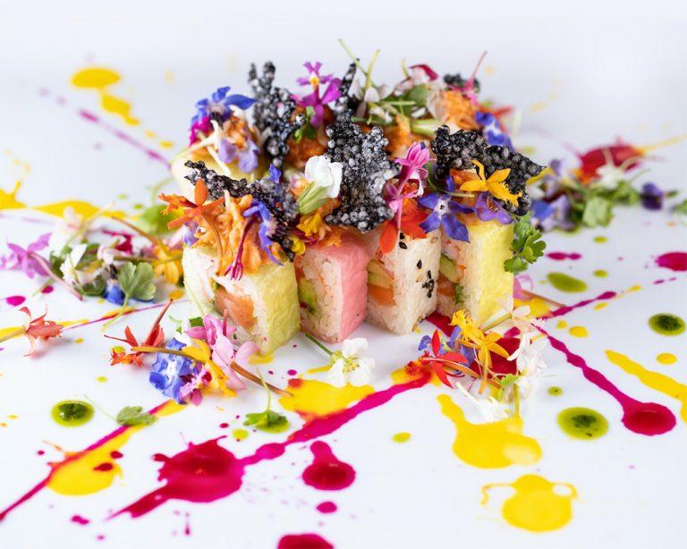 SUSHISAMBA celebrates the season with an 'In Bloom' edible
