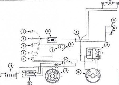 mf 135 diesel wiring diagram tractor