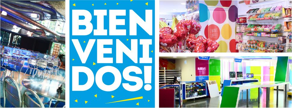BIENVENIDOS! todos los nuevos estudiantes que entran hoy a Uninorte!   ----- A Big Shout Out to all the new students starting today! WELCOME!! Don't forget to visit our restaurants n stores!